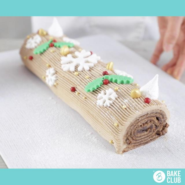Bake club christmas logo video
